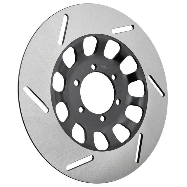 Motorcycle Front Left Brake Disc For Yamaha Rd250 Rd350 Rz350 Xs250
