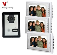 Yobang Security 7 Video Door Phone System Unit Doorbell Intercom System Video Doorbell Villa Multi Apartment