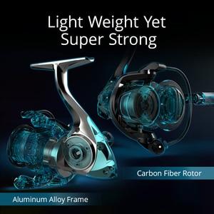 Image 4 - KastKing Speed Demon 11.34KG Max Drag Powerful Spinning Reel High Speed 7.2:1 Spinning Fishing Reel with Carbon Handle