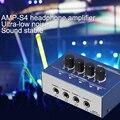 2017 Mejor 4CH Audio Portátil Amplificador de Auriculares Amplificador de Auriculares 100% Nuevo en Caja Original Hd de Audio De Alta Fidelidad