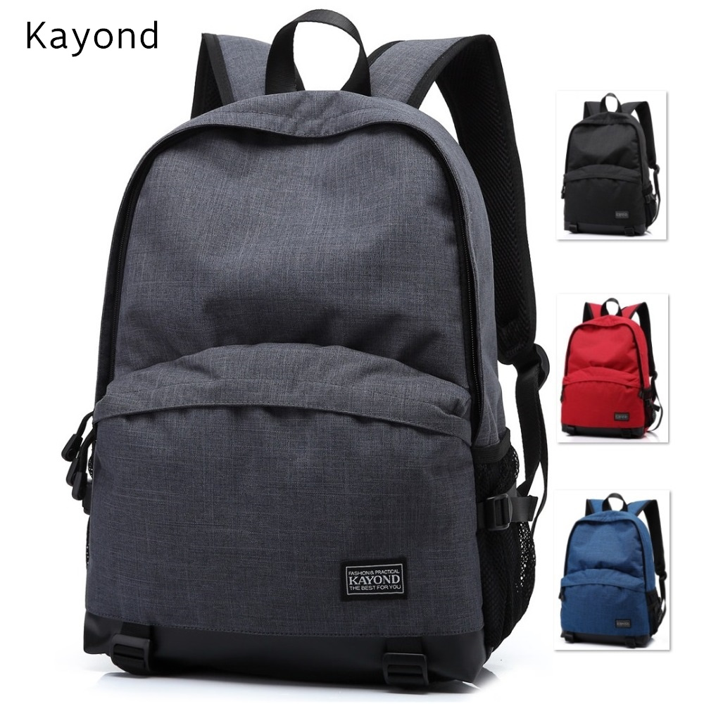 Hot Brand Kayond Backpack Bag For Laptop Notebook 14,15,15.6,For Macbook 15.4,Travel, School Shoulder Bag,Free Drop Shiping. new hot brand canvas backpack bag for laptop 1113 inch travel business office worker bag school pack free drop shipping 1133