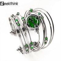 GEEKTHINK Bohemian Style Luxury Brand Quartz Watch Women Bracelet Ladies Casual Dress Steel Band Clock Female