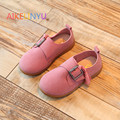 2017 Весна девушки партии shoes Дети лакированной кожи shoes девушки red Casual shoes детей бахромой принцесса shoes Baby sneaker21-30