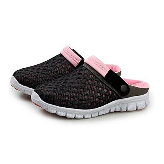 Hot Fashion Women Breathable Mesh Net Slippers Beach Hollow Out Sandals Comfortable soft Casual Summer Shoes (6.5UK/40EU, Pink)