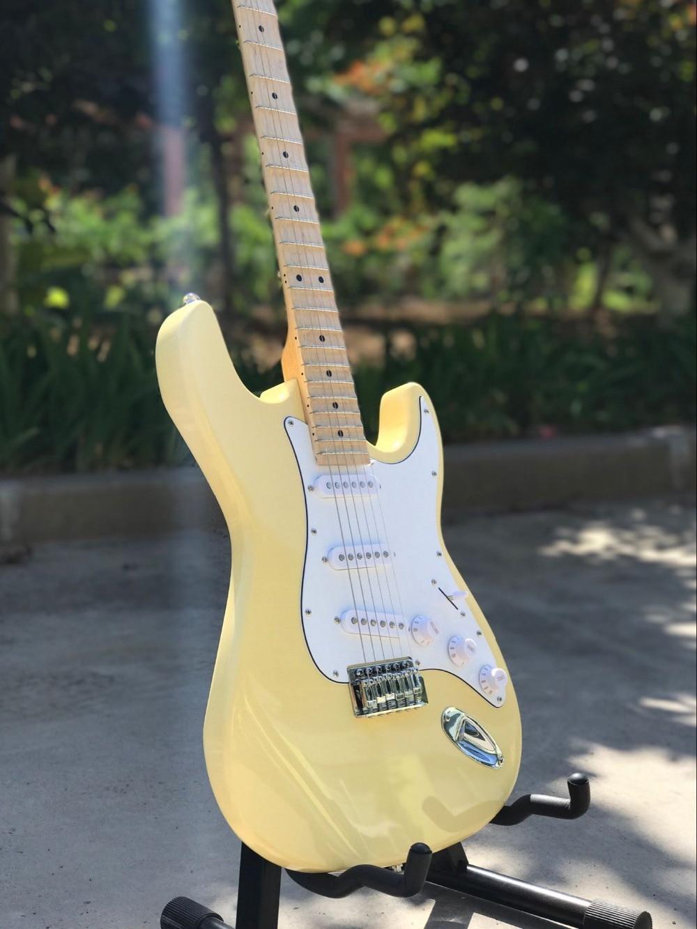 buy custom shop top quality st electric guitar handwork 6 strings maple. Black Bedroom Furniture Sets. Home Design Ideas