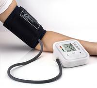2017 Hot Sale Digital Automatic Upper Arm Blood Pressure Monitor With Adaptor Health Monitors Sphygmomanometer Meter Tonometer