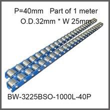 ブルーフレーム切断ホイールコンベア40ピッチ/ホイールo. d。32ミリメートル*幅25ミリメートル重負荷用オートメーション機器工場供給