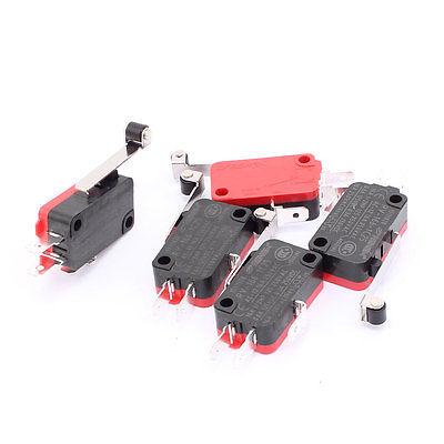 Acheter 5 Pcs RV 166 1C25 Micro Fin de Course Actionneur Type Long Rouleau Levier de arm fiable fournisseurs