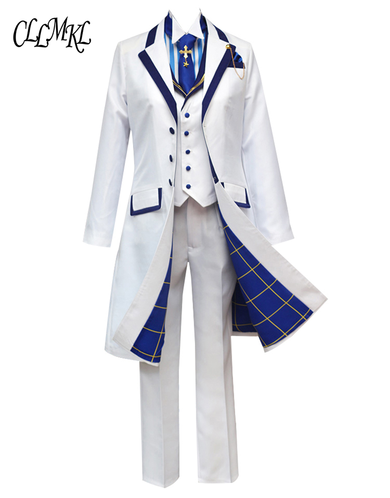 Image 3 - Fate Grand Orde  FGO Saber King Arthur Cosplay Costume Outfit Pendragon White Rose King of Knights Cosplay-in Anime Costumes from Novelty & Special Use