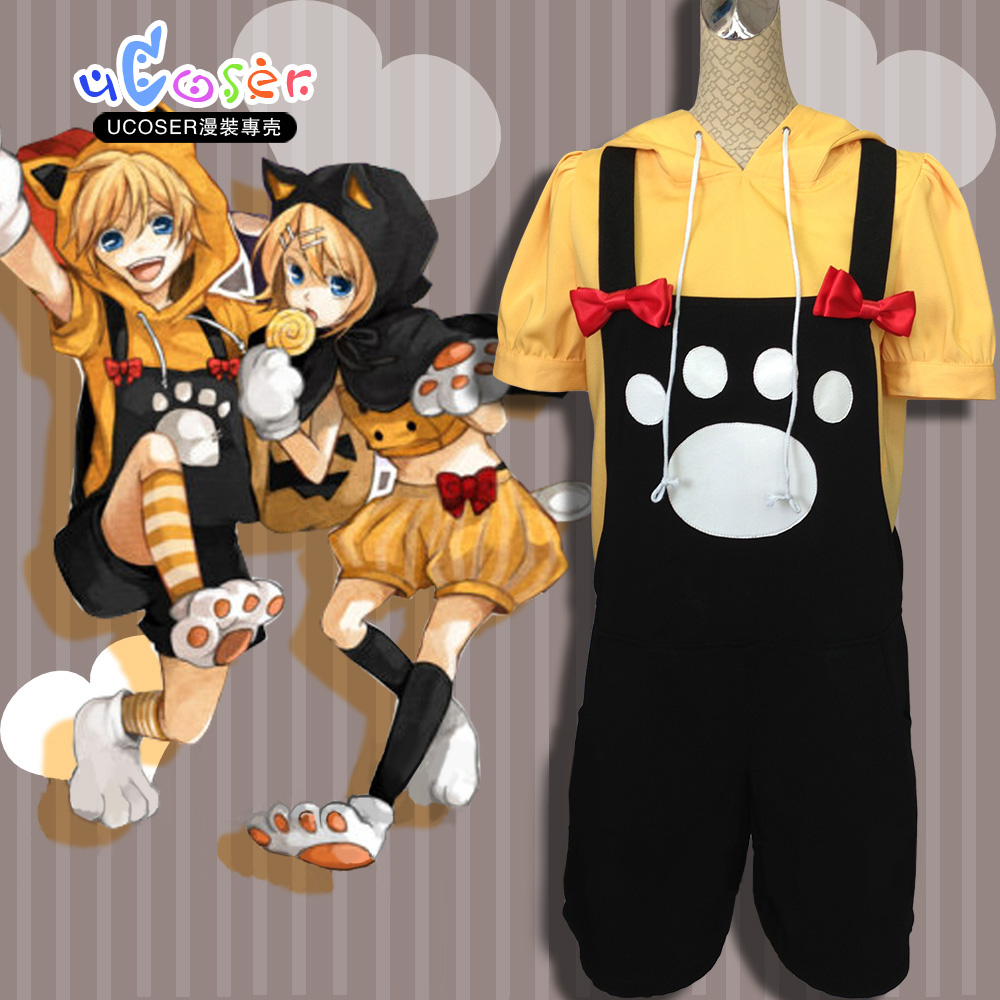Aliexpress.com : Buy Vocaloid Rin and LEN Kagamine Cosplay ...