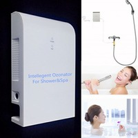 Intelligent water ozonator for shower and Spa Home water ozonizer 100-240V universal voltage to DC12V very quiet design