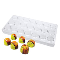 Polycarbonate chocolate Mold Homemade Chocolate Molds Jelly Soft Sweet Mould Kitchen DIY Tool