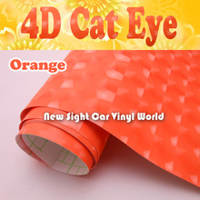 High Quality Orange 4D font b Cat b font font b Eye b font Car Stickers