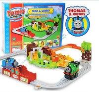 Minería eléctrico Thomas tren, mayor extensión vagones, tren pistas juguetes, al por menor, al por mayor, envío libre