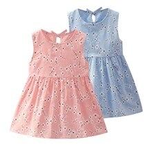 Dresses for Girls Summer Baby Girls Clothes Print Cotton Baby Dresses Fashion Baby Clothes Newborn Baby Girl Dresses