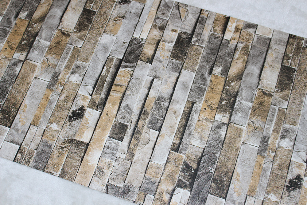Online Shop Haokhome pvc vinyl moderne faux baksteen steen behang ...