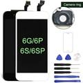 AAA класс ЖК-дисплей для iphone 6 6plus ЖК-дисплей с кодирующий преобразователь сенсорного экрана в сборе 4,7 дюймов для iphone 6S 6S Plus ЖК-5S - фото