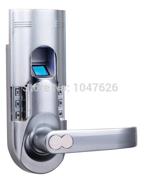 Weather Proof Door Locks Fingerprint Recognition Lock With Single Latch