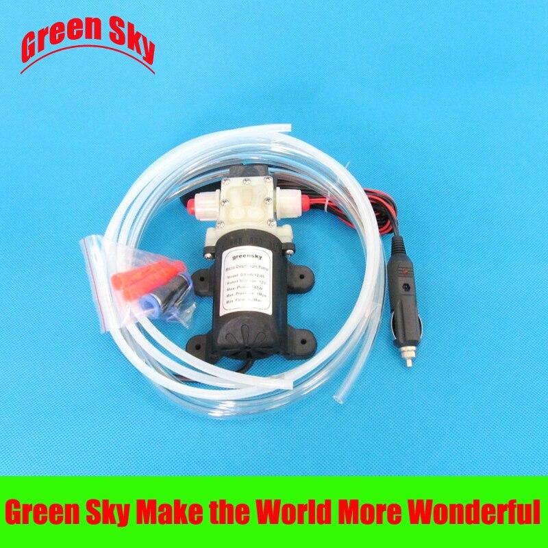 vehicle mounted kits cigarette lighter type self-priming oil pump 12v electric