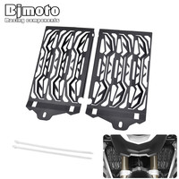 Bjmoto Motorcross Stainless Motorcycle Radiator Guard Cover Protector For BMW R1200GS GSA ADV Adventure Water Cooled