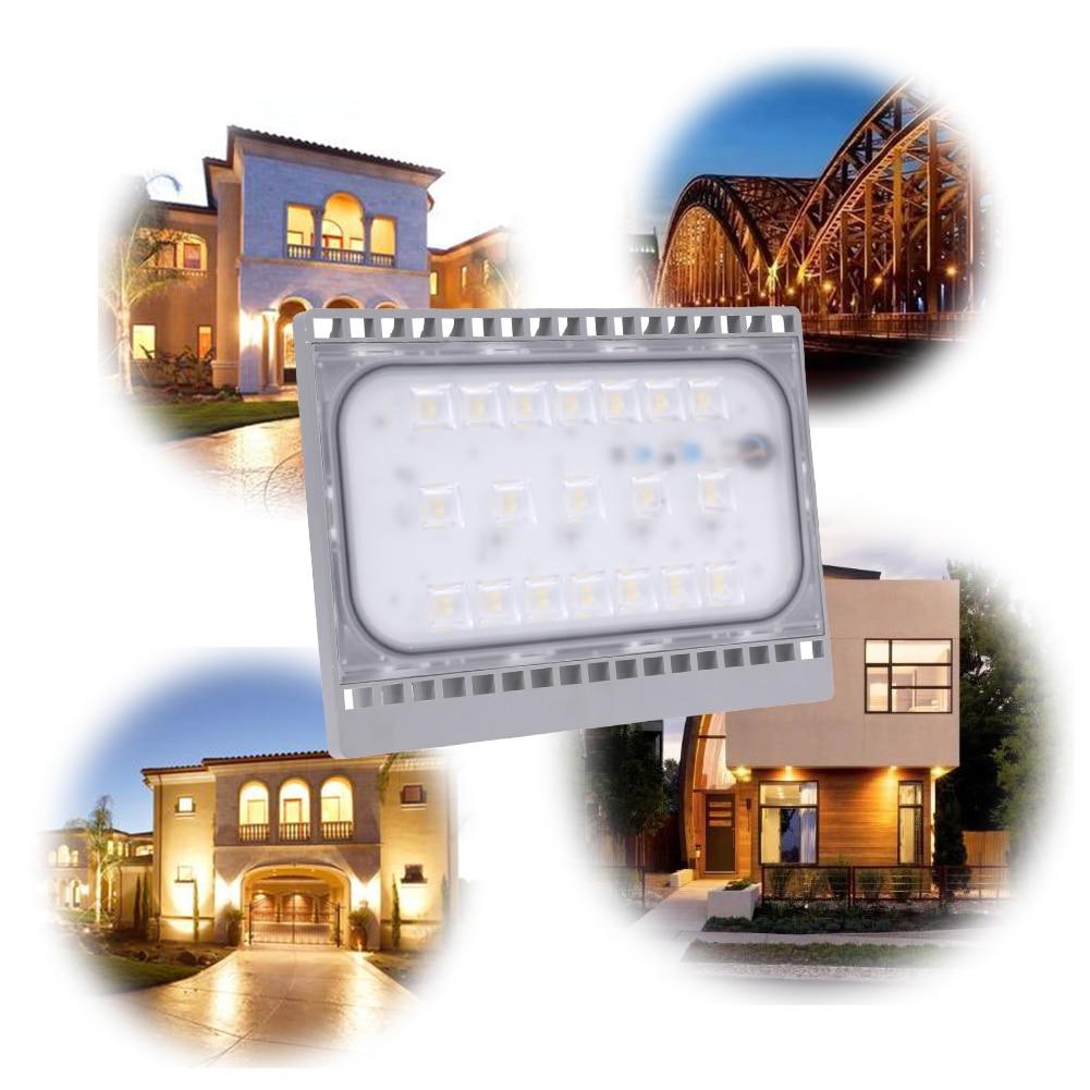 LED Flood Light 20W 30W 50W Floodlight IP65 Waterproof 220V LED Spotlight Refletor Focos LED Outdoor Lighting Gargen Lamp