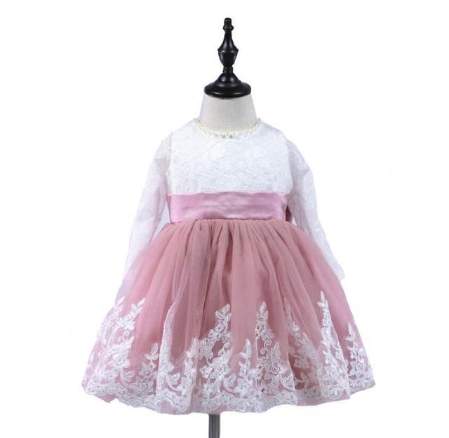 23921e368 2017 Romantic Puffy Tulle Flower Girl Dress for Weddings Big Bow ...