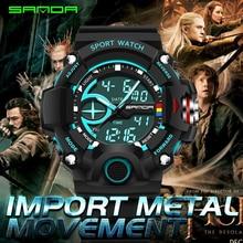 Hombres Militares Relojes Deportivos de Marca de Moda Reloj de Cuarzo LED Digital Relojes de Buceo hombres S Choque relojes relojes hombre 2016