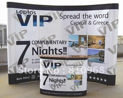 Arc POP up backdrop banner, banners, POP-up display