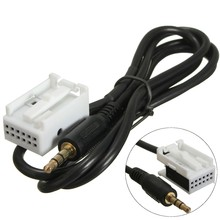 Brand New AUX in Audio Input Cable Adapter For VW /Touran /Tiguan /Golf RCD510 RCD310 RNS510