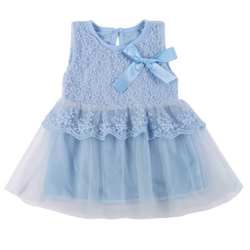 2018 תינוק בנות שמלת טוטו שמלת vestidos ילדים יפה תחרה פרח קיץ מסיבת נסיכת שמלות תינוק vestido דה festa לונגו