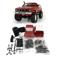 Hot RC Car 4WD 2.4G 1:18 Driving Rock Crawlers Car Remote Control Model Off Road Assemble Car Kit Toy for Children