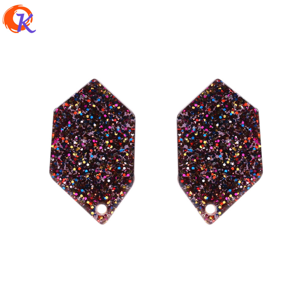 Cordial Design 50Pcs 14*24mm Jewelry Accessories/Beads For diy Earrings/Sequins In Beads/Hand Made/Earring Bead Findings