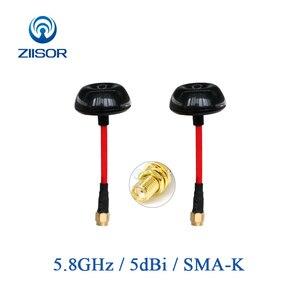 Image 1 - 5.8GHz aéronef sans pilote (UAV) quadrirotor FPV antenne Transmission dimage champignon antenne à Gain élevé 5800Mhz SMA femelle Ziisor Z221 B5G8SK
