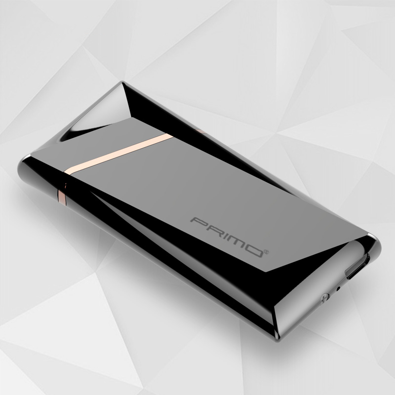 Induction lighter charging personality to send boyfriend USB electronic cigarette lighter windproof ultra-thin title=