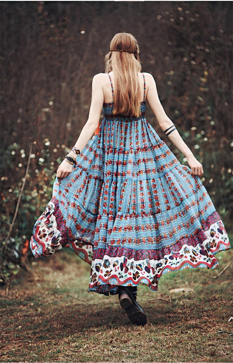 Floral vestidos Frauen Große 4
