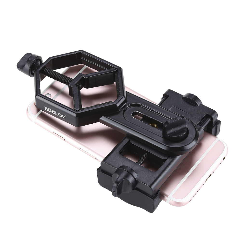 Image 3 - Free shipping!Spotting Scope Cell Phone Holder Astronomical Telescope Universal Stand Mount-in Spotting Scopes from Sports & Entertainment