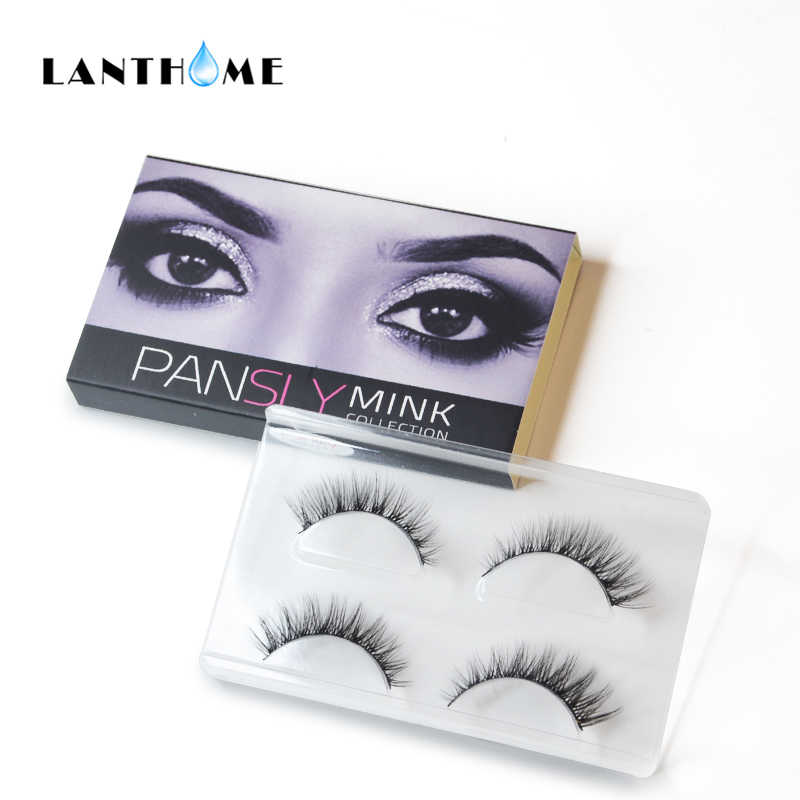 3276a205384 Natural Rzesy False Eyelashes Mink 3d Hair Eyelash Extension Faux Cils Mink  Lashes Long Lasting Ali