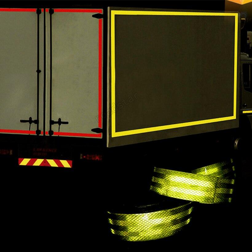 Купить 5 см x 10 м красные/желтые безопасные наклейки для тела с эффектом