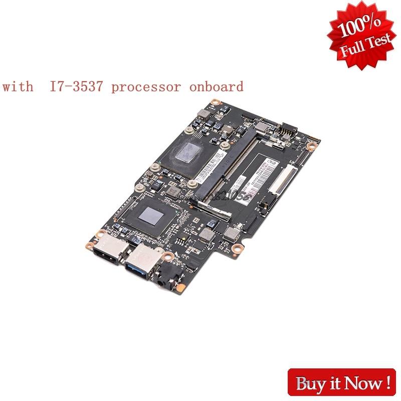 Nokotion Para Lenovo Yoga 13 Laptop Motherboard FRU 90002034 SR0XG Com I7-3537 Processador Onboard