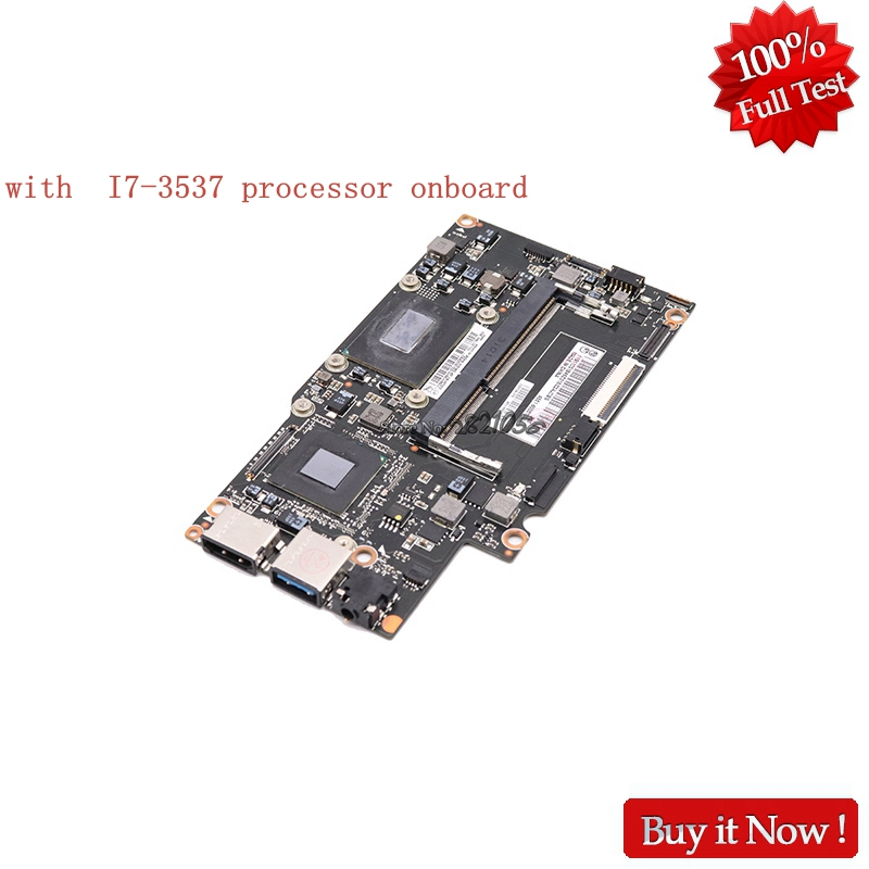 Nokotion For Lenovo Yoga 13 Laptop Motherboard FRU 90002034 SR0XG With I7 3537 Processor Onboard