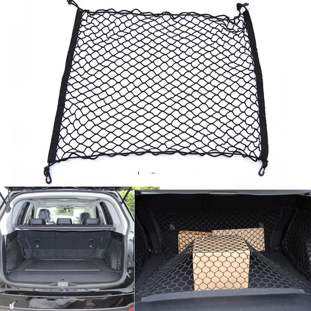 Hot Trunk Car Rear Cargo Organizer Storage Elastic Carrier Mesh Net Nylon  FOR Volkswagen Vw Golf