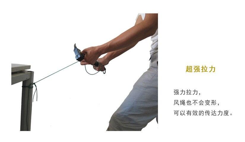 Corda Tenda à prova de Vento Com