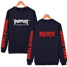 Fashion Justin Bieber New Style With Capless hoodies Men/Women Kpop Sweatshirt New for winter and autummn XXS-4XL(China)