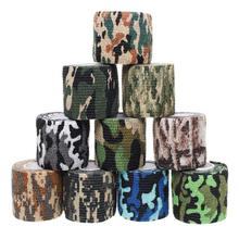 Camouflage Sports Elastoplast Self Adhesive Bandage Muscle Tape Self Adherent Cohesive Wrap Bandages Outdoor/First Aid Tool