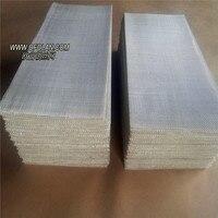 1 шт. 10x10 см анод Серебряная сетка распродажи