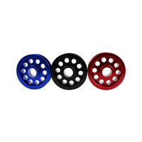 High Quality Racing Underdrive Crank Pulley For Honda Civic 92 00 B16A Engine Fits Much More