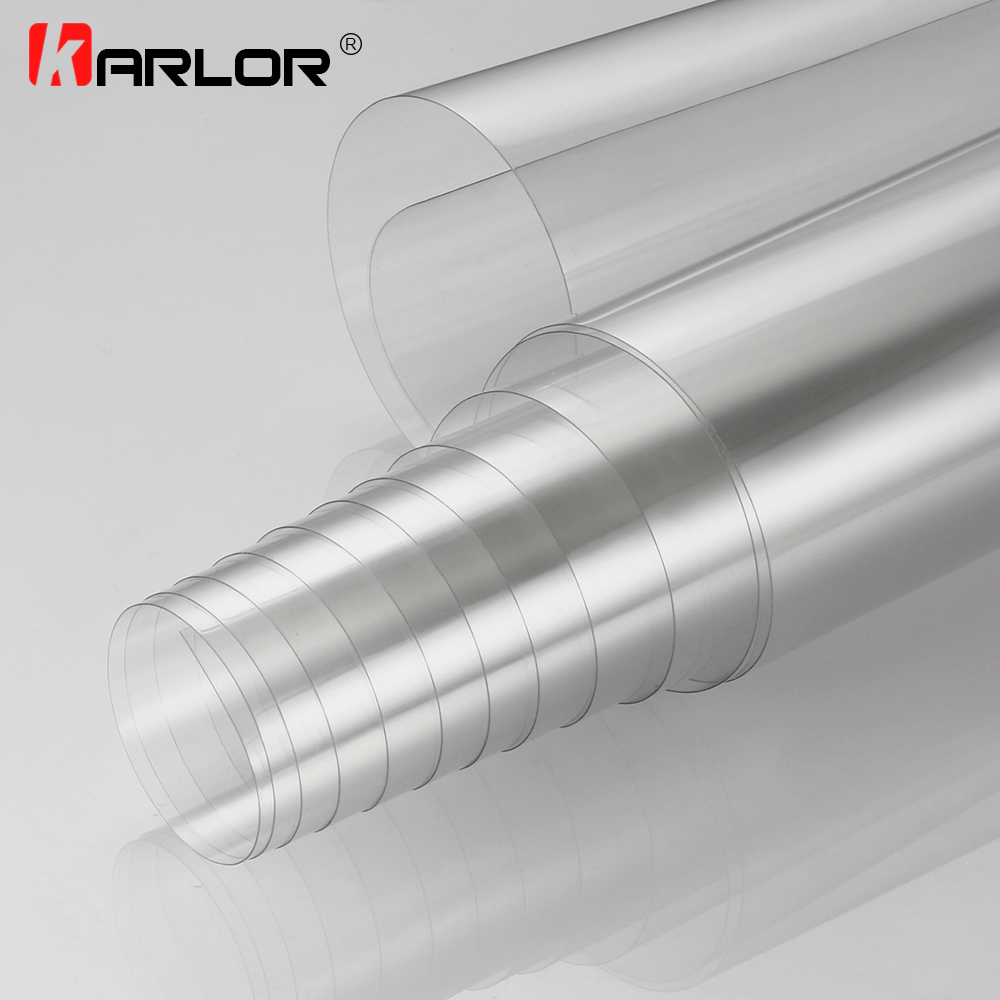 10/20/30/40/50x100cm Rhino Skin Protective Film Car Bumper Hood Paint Protection Sticker Anti Scratch Clear Transparence Film(China)