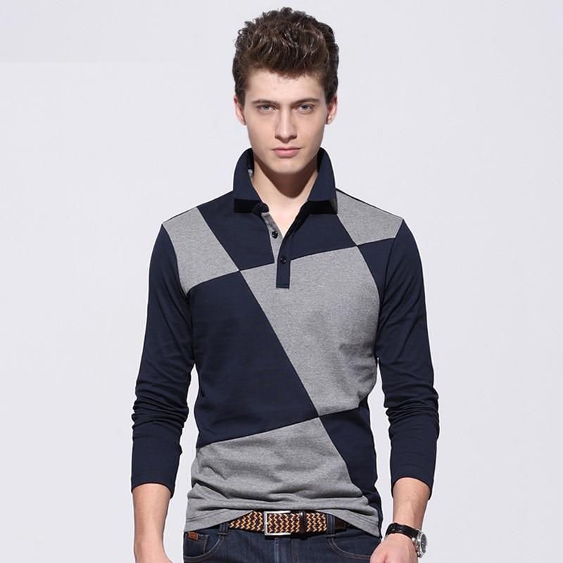 Popular Men's Polo Shirt Long Sleeve-Buy Cheap Men's Polo ...