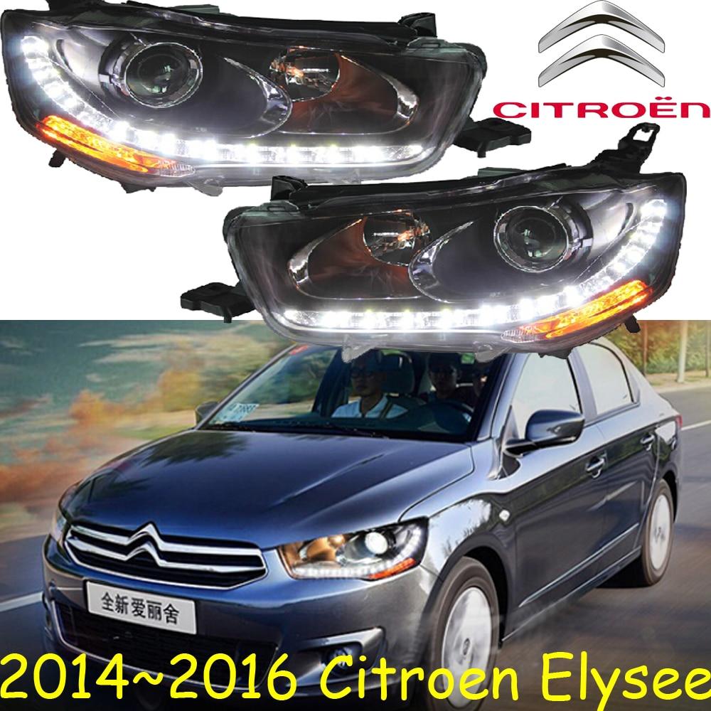 Citroe Elysee headlight,2014~2016,Fit for LHD,Free ship!Citroe Elysee fog light,Elysee,xsara,c4 picasso,c5,zx,c-quatre elysee elys49016