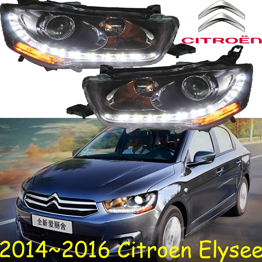 Citroe Elysee headlight,2014~2016,Fit for LHD,Free ship!Citroe Elysee fog light,Elysee,xsara,c4 picasso,c5,zx,c-quatre mitsubish grandis headlight 2008 fit for lhd